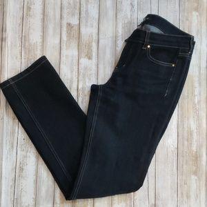 WHBM Noir Dark wash Jeans sz 6